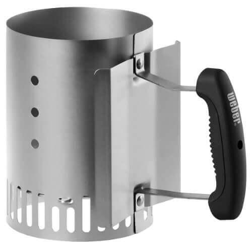 weber 7447 compact rapidfire chimney starter. Black Bedroom Furniture Sets. Home Design Ideas