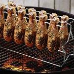 Artestia Steel Wire Poultry Wing/Leg Grill Rack